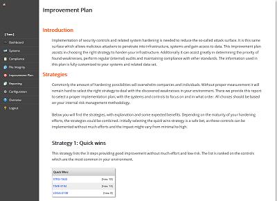 Lynis Enterprise screenshot